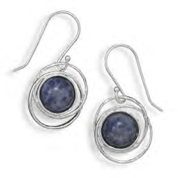 Brand New French Wires With Genuine Sodalite