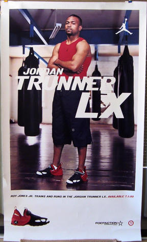 Roy Jones shoe store poster