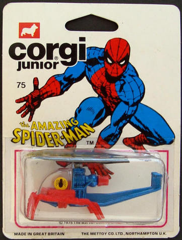Corgi Jr. Spider-Man helicopter