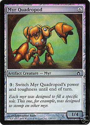 Myr Quadropod Foil