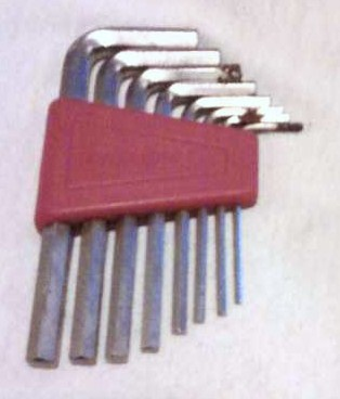 Allen Wrenches 8pcs