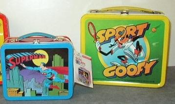 Items #1 & #2 - Superman & Sport Goofy