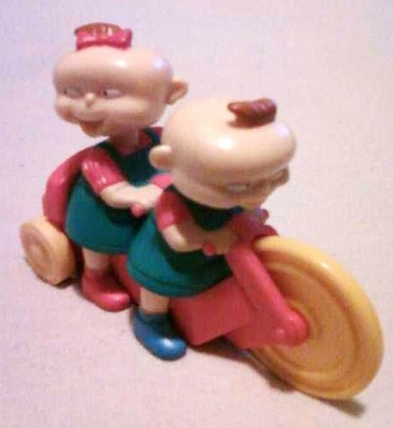 Rugrats on Bike