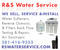 Activated Carbon Water Filtration. Water Softeners. RS Water Svc