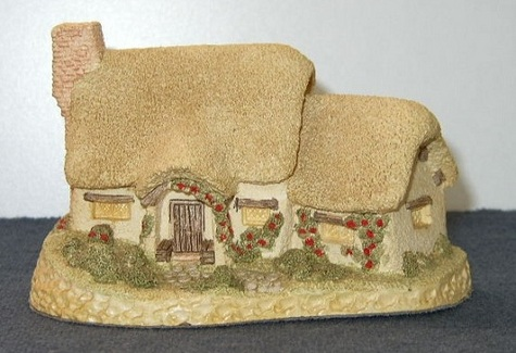 Item #1 -- David Winter Rose Cottage