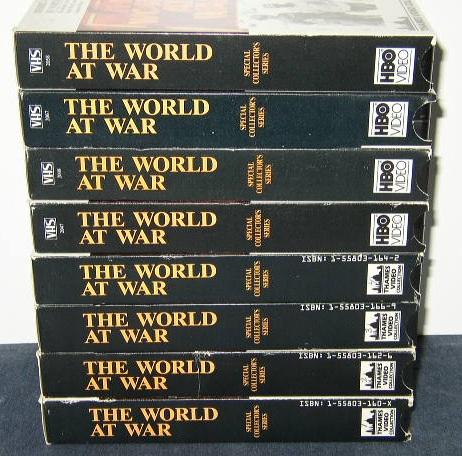 The World At War - Volumes 1-8