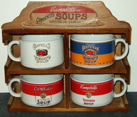 Campbell's Condensed Soups Historical Labels