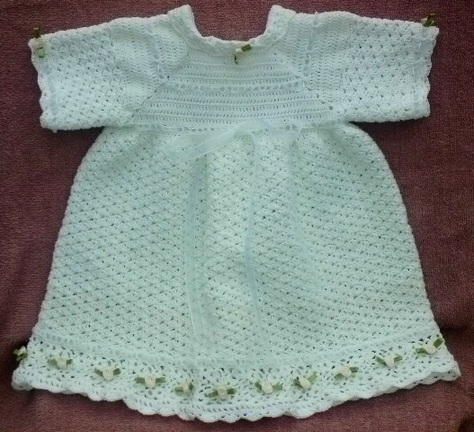 """14"""" Christening/Baptism Gown"""