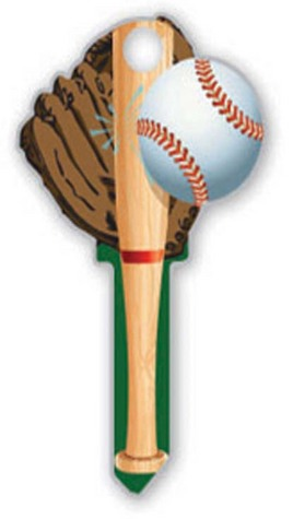 baseball house key