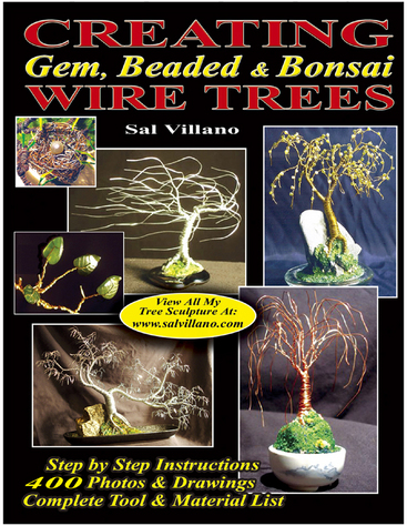 CREATING Gem, Beaded, and Bonsai WIRE TREES - by Sal Villano