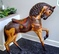 Unique Collectible Carousel Style Stander Horse