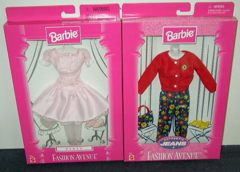 Barbie - Fashion Avenue Outfits
