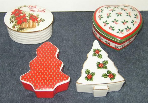 Holiday Trinket Boxes