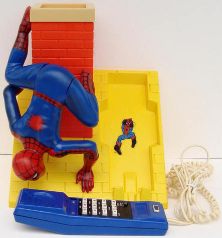 Spider-Man telephone