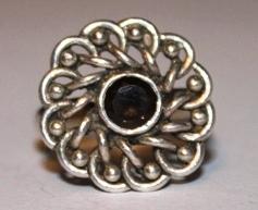 Sterling-Silver-Flower-Swirl-Ring