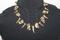 Handcrafted Potato/Glass Beads Camo Necklace