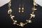 Handcrafted Camo Potato/Glass Beads  Necklace Set