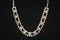 Austrian Crystal Silvertone Necklace and Earring Set