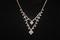 Austrian Crystal Silvertone Necklace