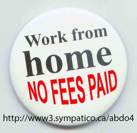 "Work From Home �"" NO Fees to be paid"