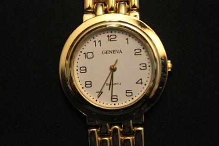 Geneva-mens-Quartz-Wrist-Watch-white-face