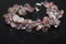 Handcrafted Rhodochrosite Beads Bracelet with Pink Ice Beads