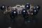 Handcrafted Blue Glass Beads Bracelet
