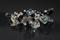 Handcrafted Black & White Glass Beads Bracelet