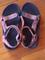 LN pink TEVA sandals size 4 kids