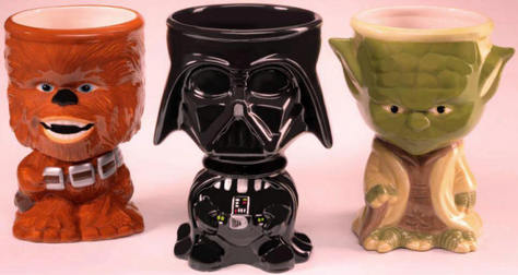 Star Wars mugs loose