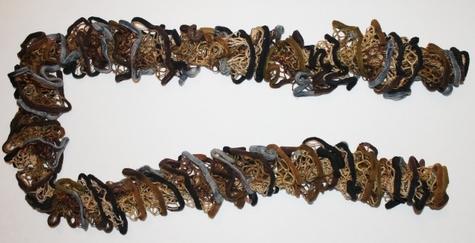 knit-scarf-brown-tan-blue