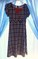 Rare Editions black/white/red checked Dress * Girls 16