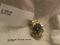 Pendant: Light Blue Topaz 14kt YG with Diamond (Orig Price $500)