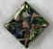 Murano Glass Swirl Diamond Pendant