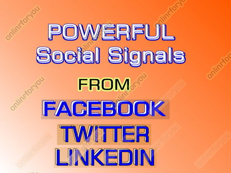 Social Media Promoting Services