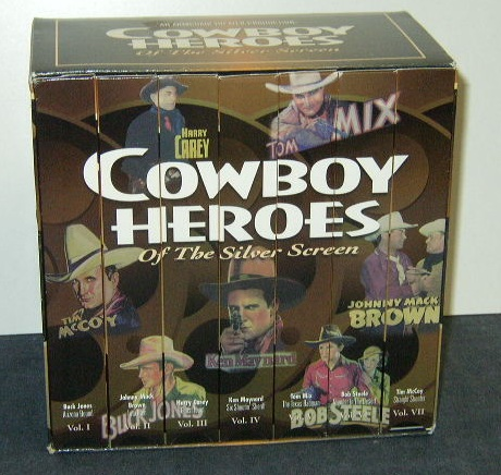 Item #1 - Cowboy Heroes of the Silver Screen - VHS Box Set