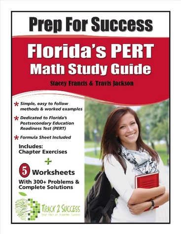 Prep for Success PERT Math Study Guide Cover