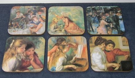 Renoir Tile Coasters