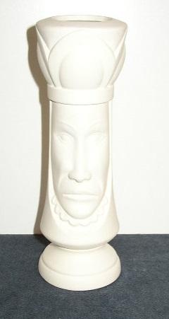 King Head Vase