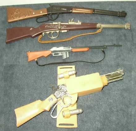 Vintage, Miniature Toy Rifle Collection