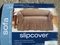 NEW! SOFA SLIPCOVER SEAGRASS CHOCOLATE BRAND NEW!