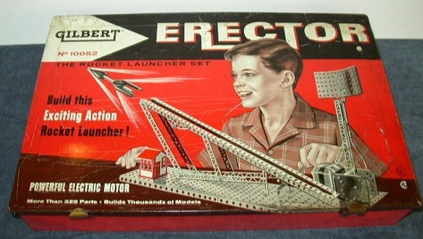 Gilbert Rocket Launcher Erector Set