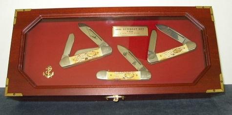 Case 1985 Gunboat Knives Set