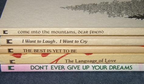 Collectible Susan Polis Schutz Poem Books !!