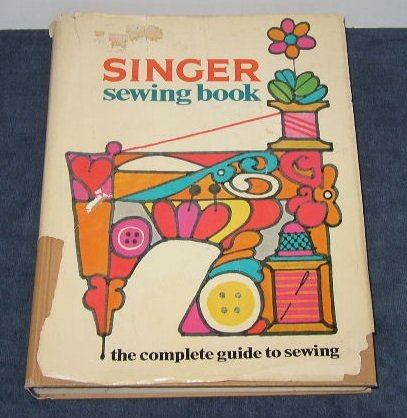 1969 Singer Sewing Book