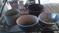 4 Big Old Pots
