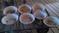 15 Old Medium Size Round Pans