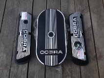 COBRA VALVE COVERS, COBRA AIR CLEANER