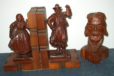 Hand-Carved Items from Argentina