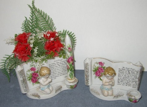 The Lord's Prayer Candle Holder / Planter